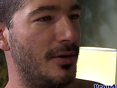 Euro hunk assfucking stud before bottom cums