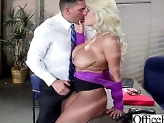 Office Doll (bridgette b) With Big Bosom Banged Hard Style video-08