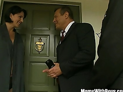 The Governor Fucks MILF Reporter Roxanne Hall