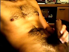 cock juicy hairy jerking gay wanking wrap up lantin