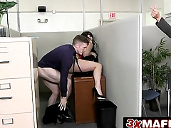 Crazy Office Sex with Ryan Smiles