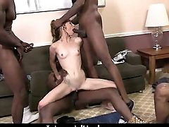 Big black schlong in white cunt 22