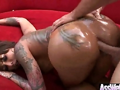 Deep Anal Sex Overrefined With Slut Big Butt Oiled Girl (bella bellz) clip-05