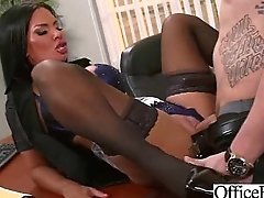 Sex With Slut Worker Big Juggs Office Girl (elicia solis) clip-15