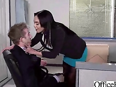 Hard Sex Action With Big Tits Slut Office Girl (selena santana) clip-27