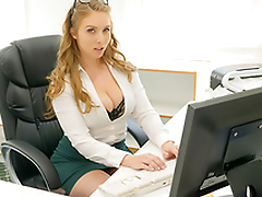 Sexy babe Lena Paul In be imparted to murder porn scene - Cum Into My Office