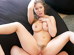 Bysty Sister Persuades Brother Into Flabby Titty Fuck  HD Lena Paul Porn