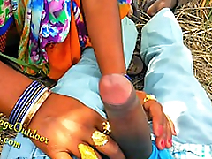 Indian Desi Girl Friend in Open Feilds khet Village Open-air Sex Sex In Jungal