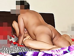 Loud Moaning Desi Fit together Pranya getting Fucked Hard in Threesome by Hubby's Friend