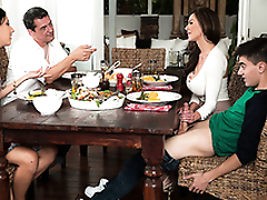 Bad sexy mom Kendra Lust makes love with her son Jordi El Niño