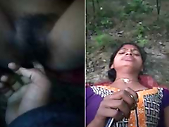 Today Exclusive- Desi Village Girl Out Door Pussy Fingering Hard by Bf