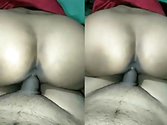 Sexy Desi Sitting on Hubby's Cock Like Reverse CowGirl and Fuck
