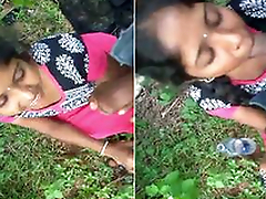 Telugu Girl Outdoor Blowjob