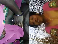 Desi Randi Bhabhi Outdoor Blowjob and Ridding Customer Dick part 1