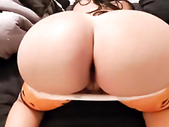 This thick MILF has a big ass that instantly sends all blood to the cock department