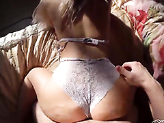 Big Booty Girl Sloppy Blowjob and Sensual Sex - Cumshot