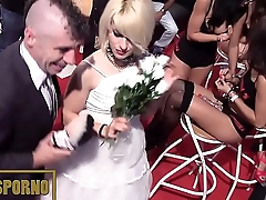 funny porno wedding in public