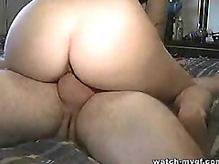 Amateur Girlfriend Tries a little Anal