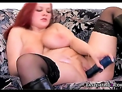 Home alone bbw insering big toy in pussy - easydatingx.com