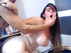 Amateur Webcam Girl Doggystyle And Swallowing - SexyStreamGirls.com