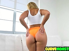 Kelsi Monroe works all that latina ass for cumshot