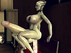 Liara'_s Giant Dildo (Futa Version)